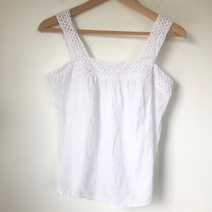 Old Navy White Summer Tank Top